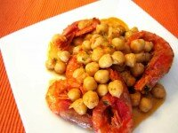 cigrons amb gambes //Foto: http://sisouservits.blogspot.com